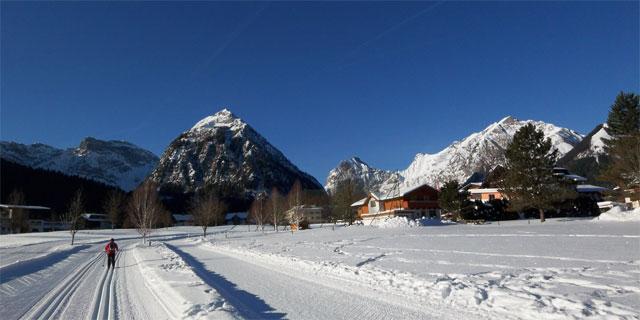 Loipen in Pertisau am Achensee