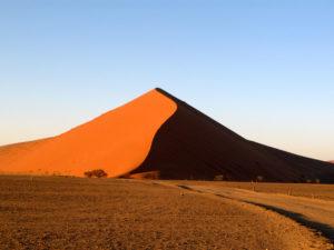 Sanddünen in der Namibwüste