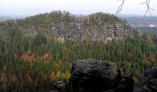 Blick auf die Südseite des Großen Bärensteins