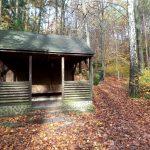 Schutzhütte - hier beginnt unsere eigentliche 'Umrundung' des Großen Bärensteins