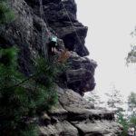 Kletterkurs am Papst mit Toprope-Sicherung