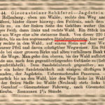 """Quelle: Moritz Fischers """"Führer durch das Gottleubatal"""" von 1882"""